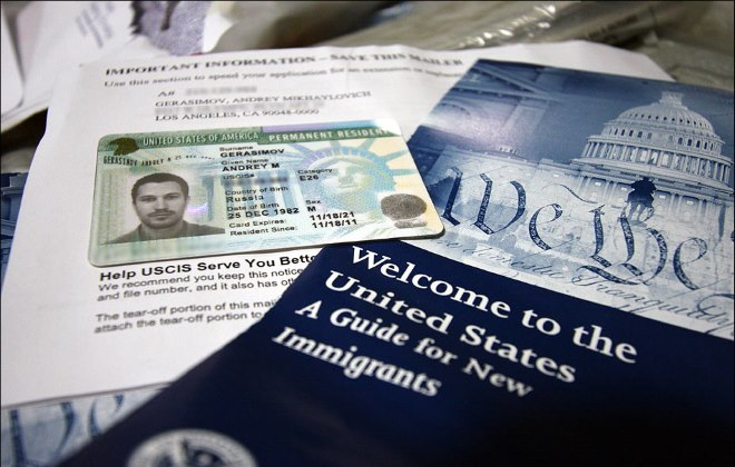 Green card application for the diversity immigrant visa lottery in the united states
